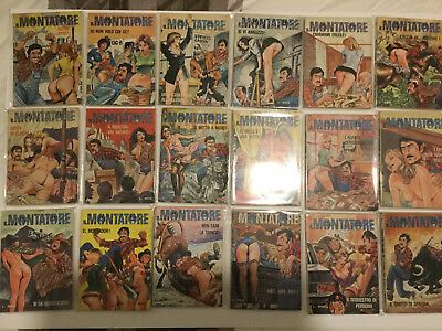 Il Montatore - 71 Issues,  *Almost* Full Set of Milo Manara Art
