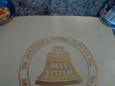 Bell System C&P Telephone Print We Made It Work 1983