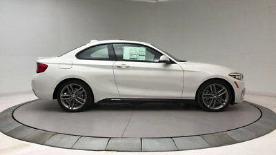 BMW 2 Series 230i 230i 2 Series 2 dr Coupe Automatic Gasoline 2.0L 4 Cyl Alpine White