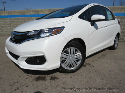 Honda Fit LX CVT LX CVT New 4 dr Sedan CVT Gasoline 1.5L 4 Cyl White Orchid Pearl