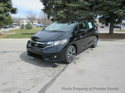 Honda Fit EX CVT EX CVT New 4 dr Sedan CVT Gasoline 1.5L 4 Cyl Crystal Black Pearl