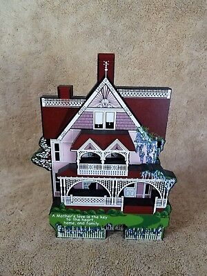 2000 Shelia's Mother's Day House Plaque***signed By Artist