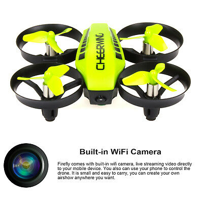 Cheerwing CW10 Quadcopter Mini RC Drone Wifi FPV Drone Altitude Hold with Camera