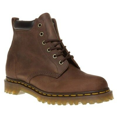 New Mens Dr. Martens Brown Ernie Leather Boots Chukka Lace Up