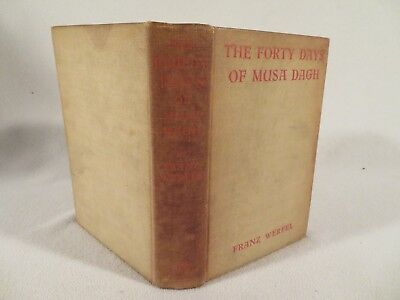 Pre-1934 Limited Edition ~ Forty Days of Musa Dagh ~ Armenian Genocide in Turkey