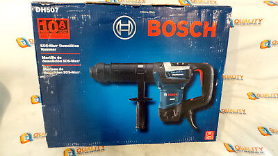 New Bosch DH507 10 Amp SDS-Max Variable-Speed Demolition Hammer