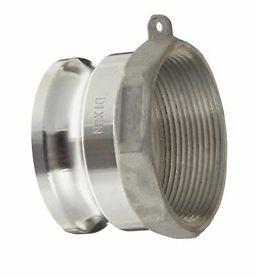 """Dixon G300-A-AL Aluminum A380 Global Type A Cam and Groove Hose Fitting, 3"""" P..."""