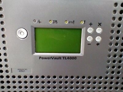 Dell PowerVault TL4000 LCD DISPLAY LTO4-120 SAS Ultrium Drive Library Autoloader