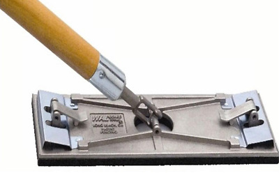 Wal-Board Tools 3-1/4 x 9-1/4 In Swivel Joint Wood Handle Tuff-Lock Pole Sander