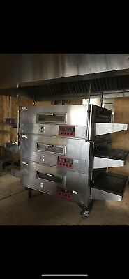 Commercial Pizza Oven Q-Matic 3pieces