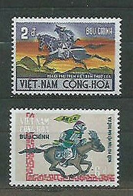 Viet nam South - Mail Yvert 397/8 Mnh