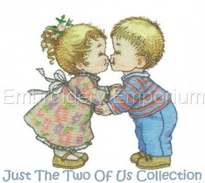 Just The Two Of Us Collection - Machine Embroidery Designs On Cd