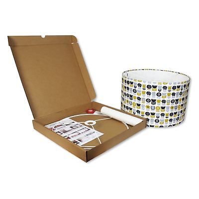 Make your Own Lampshade - 40cm Diameter DIY Lampshade Making Kit by Needcraft