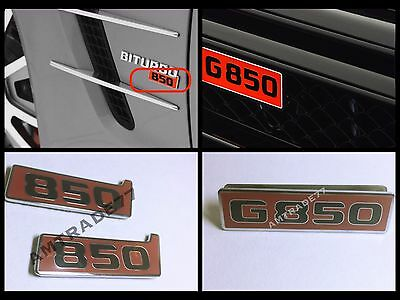 BRABUS Style 900 of emblems for Mercedes Benz set G class W463 G900 S class W222