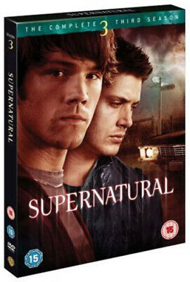 Supernatural: The Complete Third Season DVD (2008) Jared Padalecki cert 15 3