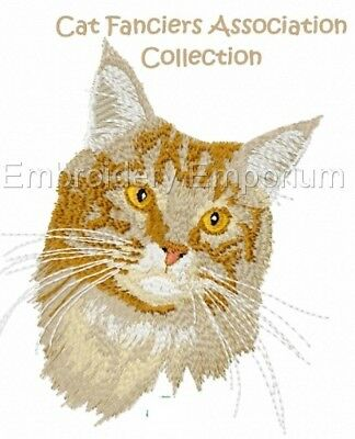 Cat Fanciers Association Collection - Machine Embroidery Designs On Cd