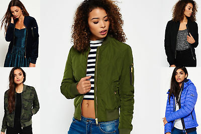New Womens Superdry Jackets Selection - Various Styles & Colours 2304 1
