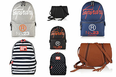 New Superdry Bags Selection - Various Styles & Colours 2304