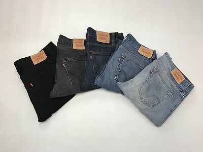 Levi Levis 512 Bootcut Jeans - 512 - Free Postage All Colours All Sizes Grade A