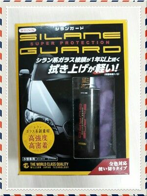 WILLSON SILANE GUARD Coating Agent Care for cars #1276 Japan pro/Free shipping