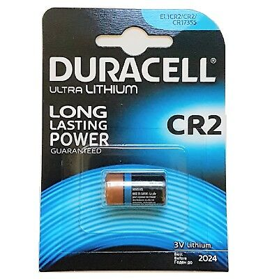 2x Pilas Duracell CR2 3V LITIO CAMARA FOTO CR-2-1BP BATTERY