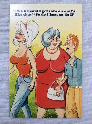 Bamforth's Novelty Postcard