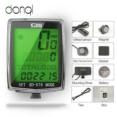 New Road Cycling Computer Waterproof ANT Speedometer bicycle Mileometer UK YMCI