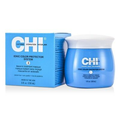 CHI Ionic Color Protector System 3 Leave In Treatment Masque 150ml NEW