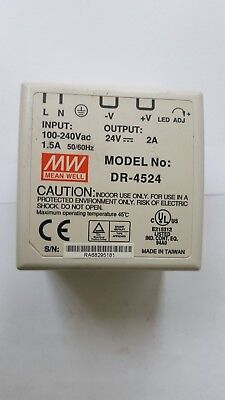 Meanwell Dr-4524 Power Supply (Rs4.4B3)