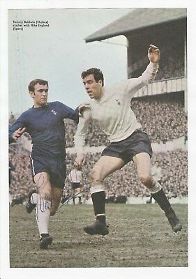 Tommy Baldwin Chelsea 1966-1975 Rare Original Hand Signed Annual Cutting