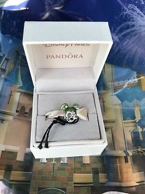 Disney 2018 Epcot Flower and Garden Festival Mickey Mouse Topiary Pandora Charm