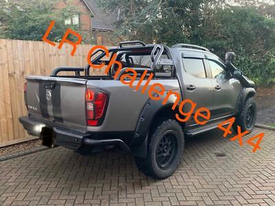 Wide wheel Arches extended arches to fit Nissan Navara NP300 New Shape 16-19