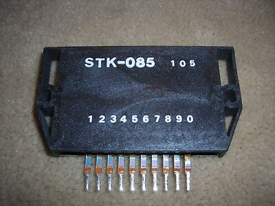 "STK085 ""Original"" SANYO   10P SIP IC  1 pc"