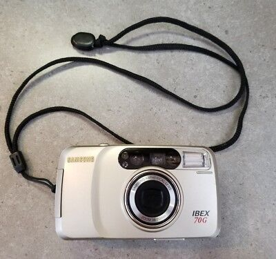 Samsung ~ Ibex 70 G Super Zoom 35mm Camera~38-70mm~Excellent