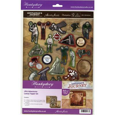 Hunkydory Gentleman's Journey A4 Topper Set Kartenbastelset Life's Adventures