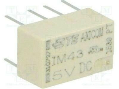 TE Connectivity 5-1462037-8 Axicom Latching Telecom Signal Relay DPDT 2A *Qty 10