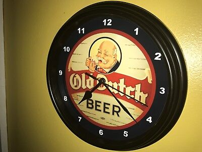 Old Dutch Beer Bar Advertising Man Cave Advertising Wall Clock Sign