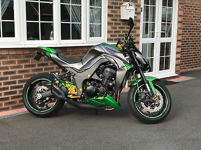 2016 16 Kawasaki Z1000 Custom One Of A Kind Low Miles 1 Owner Mint