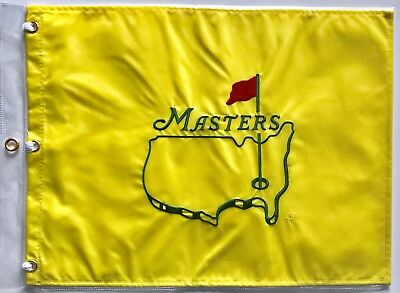 Masters undated golf flag augusta national new 2019 Masters pga Tiger Woods