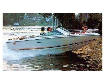 1975 Sea Ray SRV 180 Power Boat Factory Photo ud1943 Collectibles