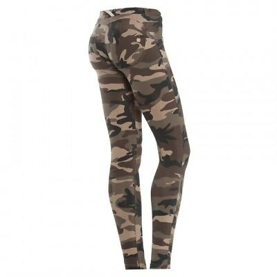 Freddy WR.UP® Low Waist Skinny WRUP1LC3E M95 Leggings Gr.M Camouflage Camo