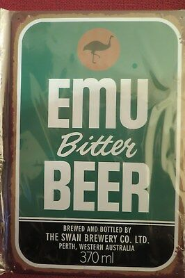emu bitter beer SIGN MAN CAVE SIGN