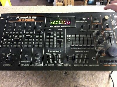 Vintage Numark PPD DM-1775A Preamp/Mixer Digital Sampler with Effects
