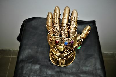 Infinity Gauntlet 3d printed Replica For Cosplay. Thanos from Avengers.