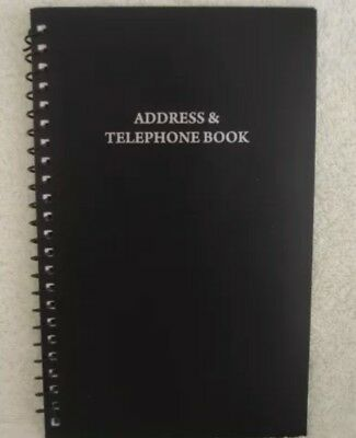 Address Telephone Directory Book Large Print