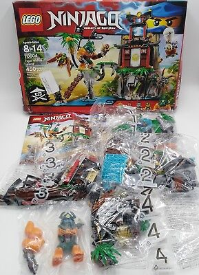 LEGO NINJAGO Instruction Booklet ONLY for Set 70604 Tiger Window Island NEW