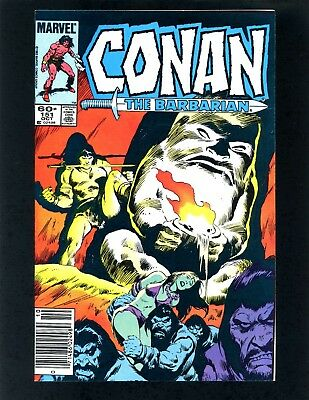Conan the Barbarian #151 (Newsstand Edition) VFNM Buscema