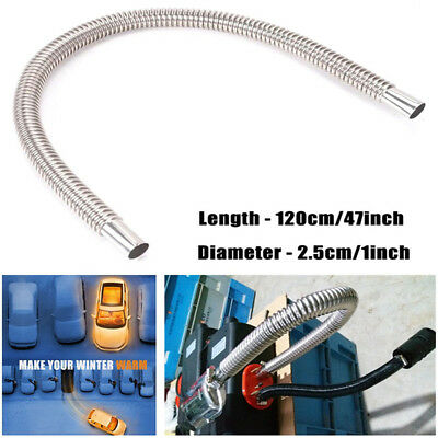 120cm*2.5cm Stainless Steel Exhaust Pipe Gas Vent for Air Diesel Parking Heater