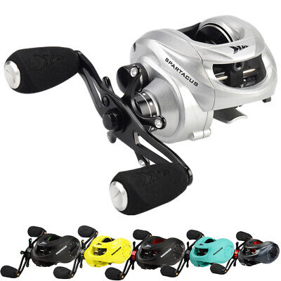 KastKing Spartacus Baitcaster Reel Multicolour Carp Fishing Reel - 8kg Max Drag