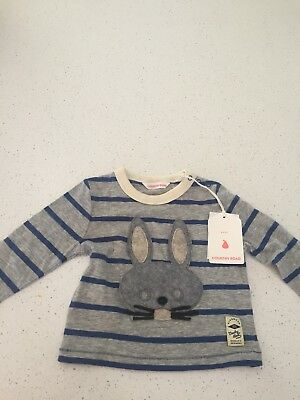Country Road Tshirt Size 00 3-6 Months NWT rrp $20